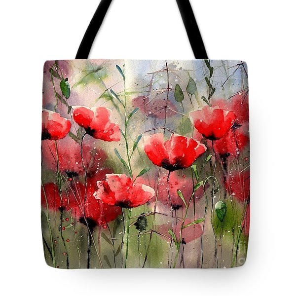 Everything About Poppies Tote Bag