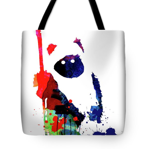 Ewok Cartoon Watercolor Tote Bag