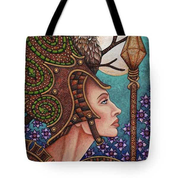 Exalted Beauty Athena Tote Bag