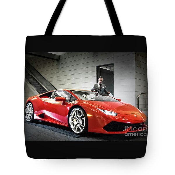 Tote Bag featuring the photograph Executive Experience by Brad Allen Fine Art
