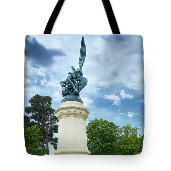 Exiled From Paradise, The Fallen Angel Tote Bag