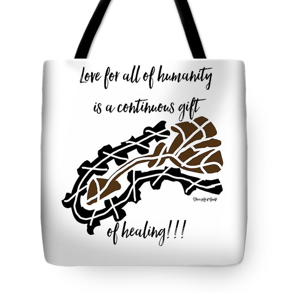 Existing In Peace 101 Tote Bag
