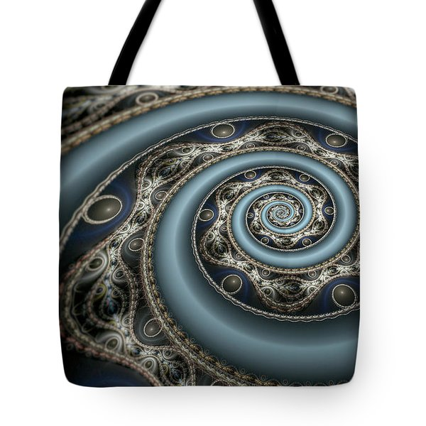 Tote Bag featuring the digital art Exodus by Missy Gainer