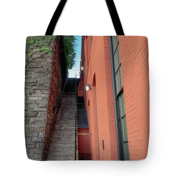Exorcist Stairs Beauty Tote Bag