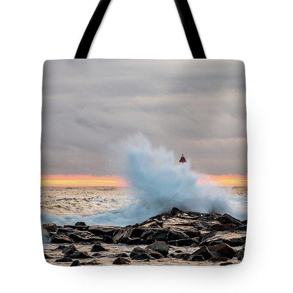 Explosive Sea 2 Tote Bag