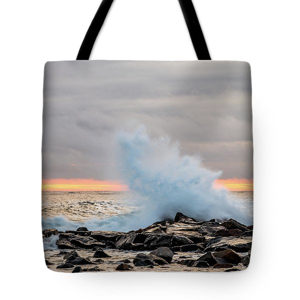 Explosive Sea 3 Tote Bag