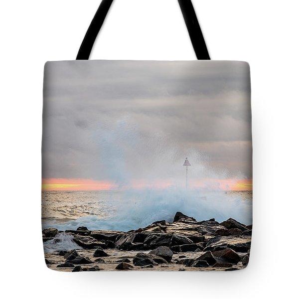 Explosive Sea 5 Tote Bag