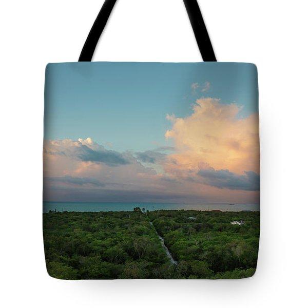 Exuma Skies Tote Bag