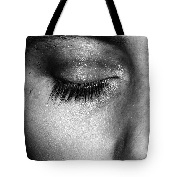 Eye, Closed  Tote Bag