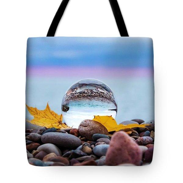 Eye Of The Calm Tote Bag