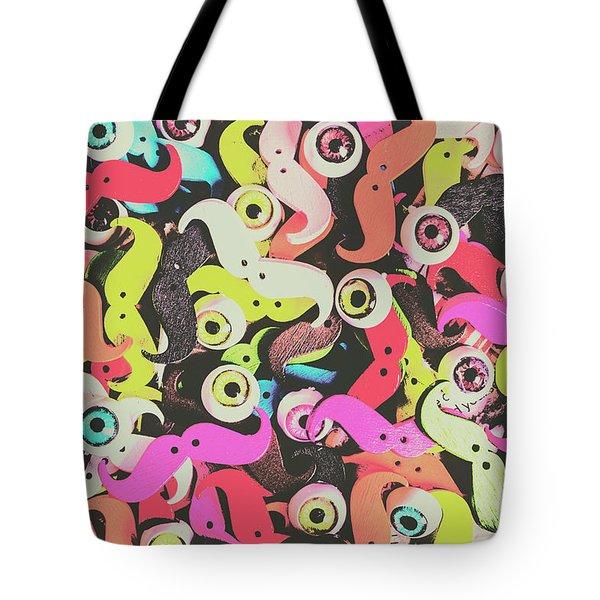 Eyes And Moes Tote Bag