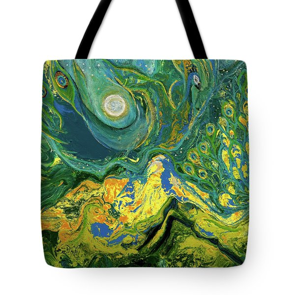 Eyes Of The Stars Tote Bag