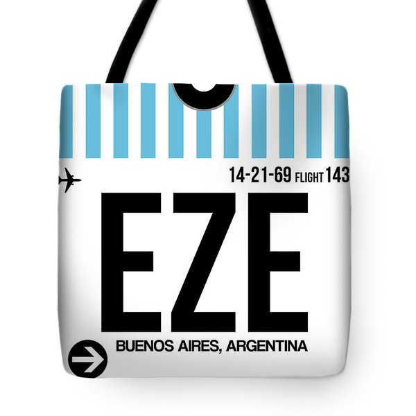 Eze Buenos Aires Luggage Tag I Tote Bag