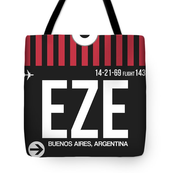 Eze Buenos Aires Luggage Tag II Tote Bag