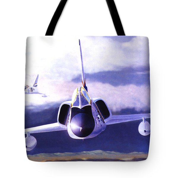 F-106a Head-on Tote Bag