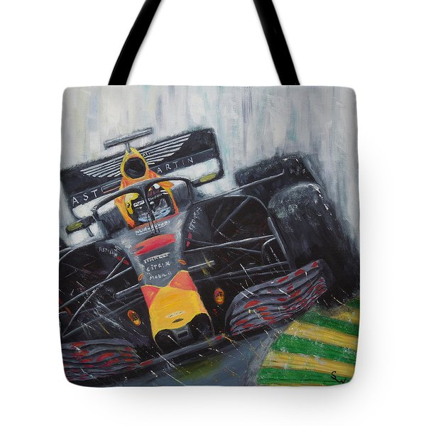 F1 Action Tote Bag