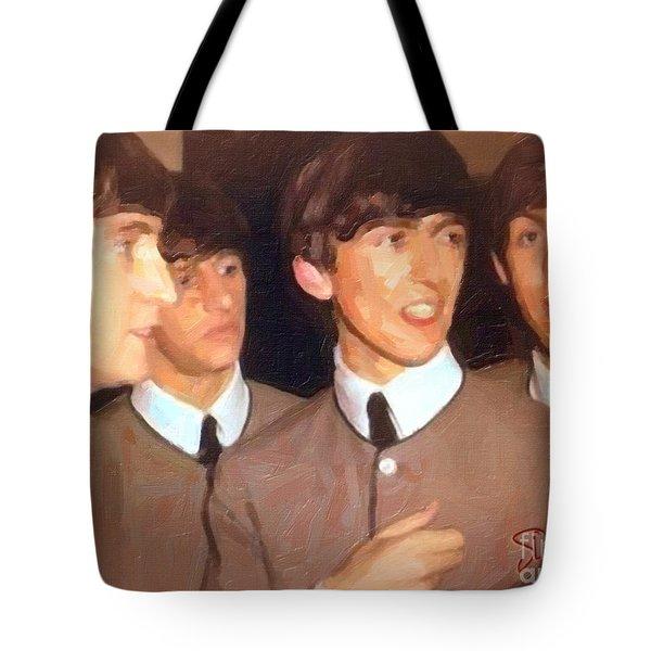 Fab Beatles Tote Bag