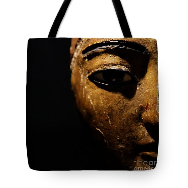 Tote Bag featuring the photograph Face Of Egypt by Sue Harper