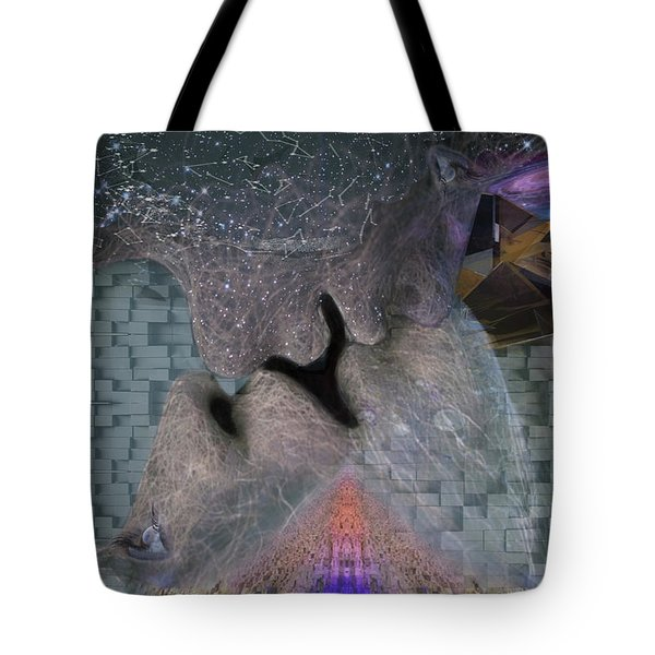 Faces Of The Galaxy Tote Bag