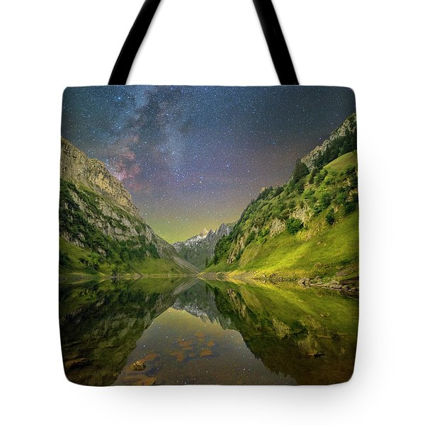 Faelensee Nights Tote Bag