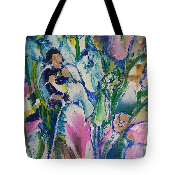 Fairest Among The Lilies Tote Bag