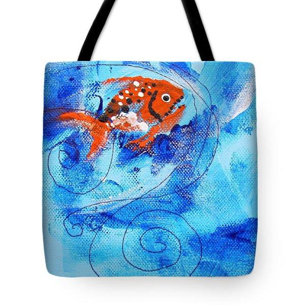 Fake Nemo Fish Tote Bag