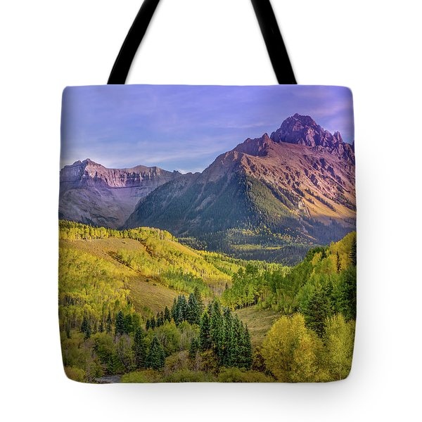 Fall Color In The San Juan Mountains Tote Bag