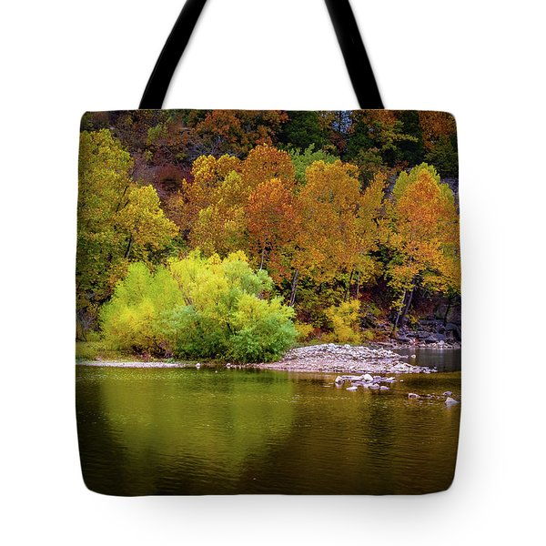 Fall Colors Of The Ozarks Tote Bag