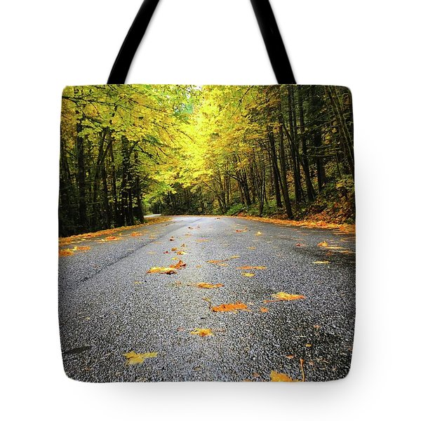 Fall Drive Tote Bag