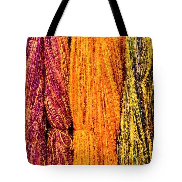 Fall Fibers 2 Tote Bag