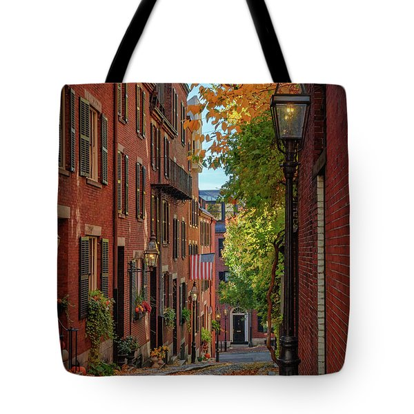 Fall In Beacon Hill Tote Bag