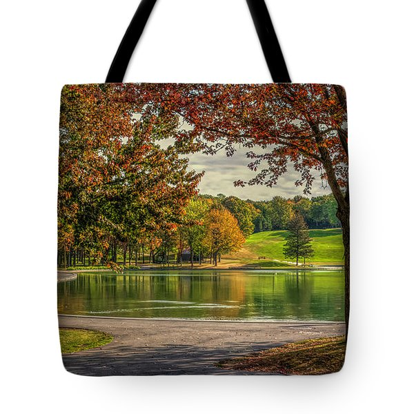 Fall In Montreal Tote Bag