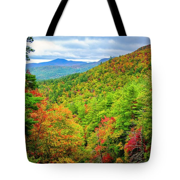 Tote Bag featuring the photograph Fall In The Smokies by Andy Crawford