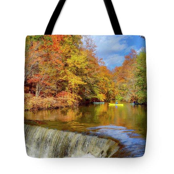 Fall On Fall Tote Bag