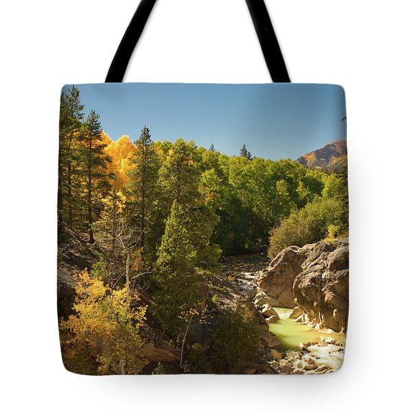 Fall On Independence Pass Tote Bag