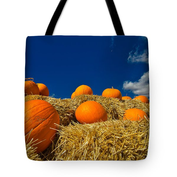 Fall Pumpkins Tote Bag