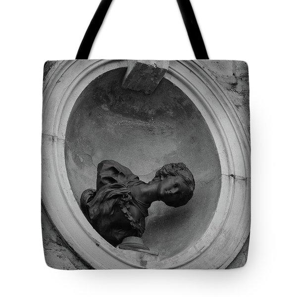 Fallen Goddess Tote Bag