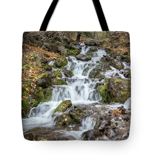 Falls Creek Tote Bag