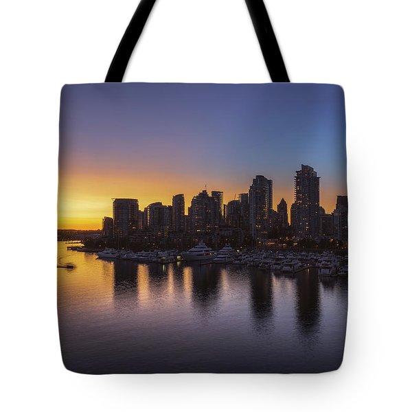 False Creek Sunset No 1 Tote Bag