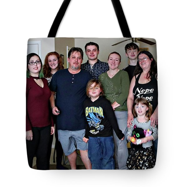 Family2 Tote Bag
