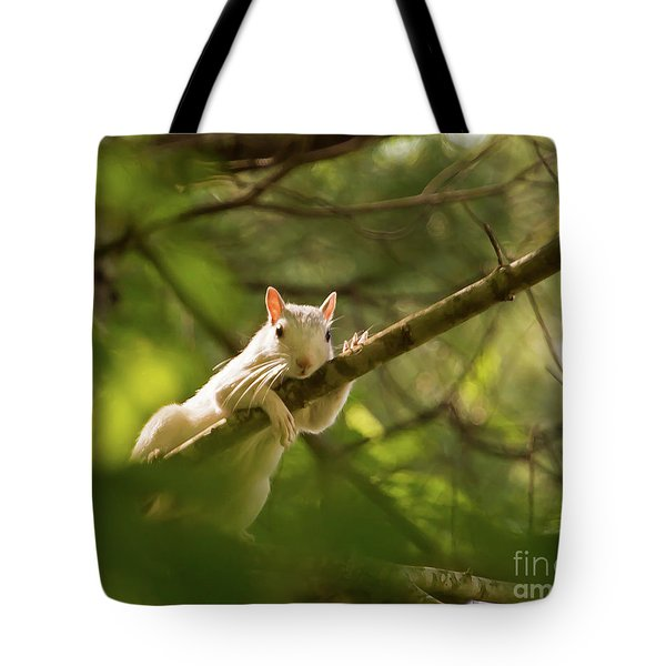 Famous Brevard White Squirrel Tote Bag