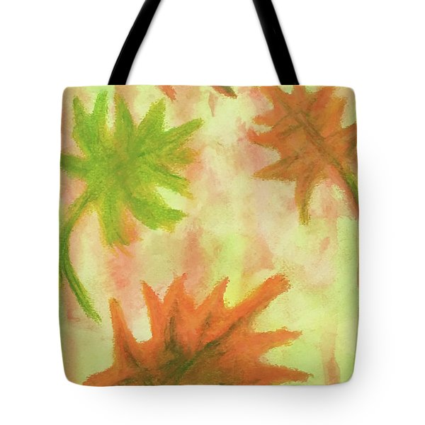 Fanciful Fall Leaves Tote Bag