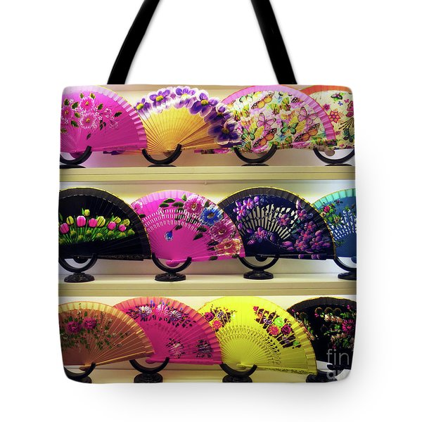 Tote Bag featuring the photograph Fanned Out by Rick Locke