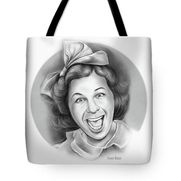 Fanny Brice Tote Bag