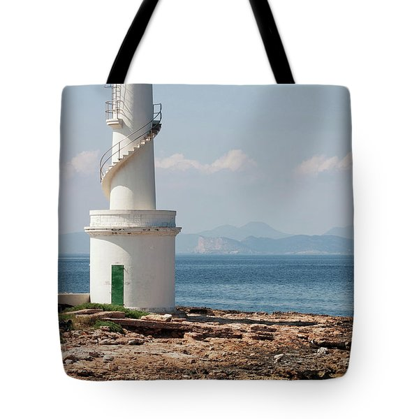 Far De La Savina, Formentera Tote Bag