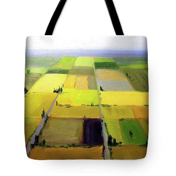 Farm Country Landscape Tote Bag