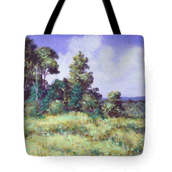 Farm Country Sketch Tote Bag