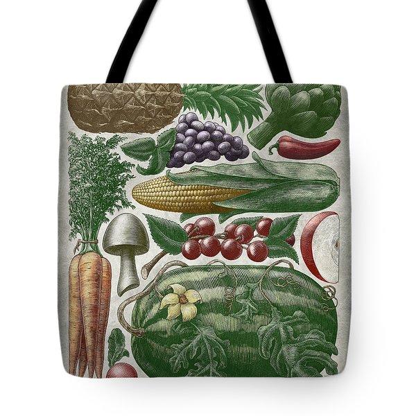 Farmer's Market - Color Tote Bag