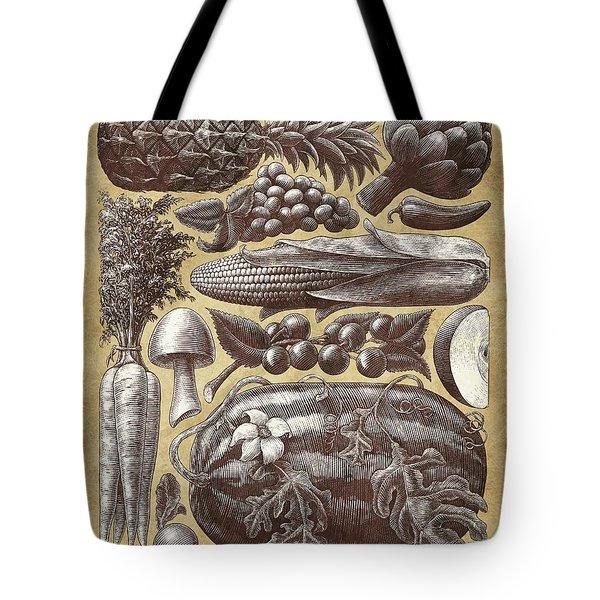 Farmer's Market - Sepia Tote Bag