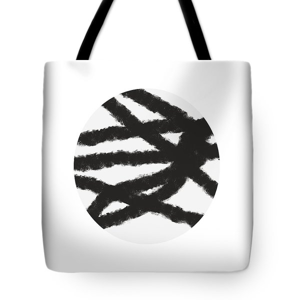 Fastball 1- Abstract Art By Linda Woods Tote Bag